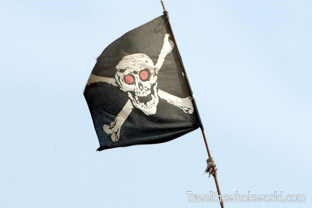 Pakistan Karachi Pirate Flag