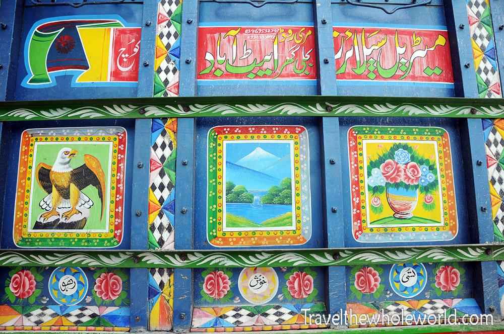 Pakistan Truck Decorations