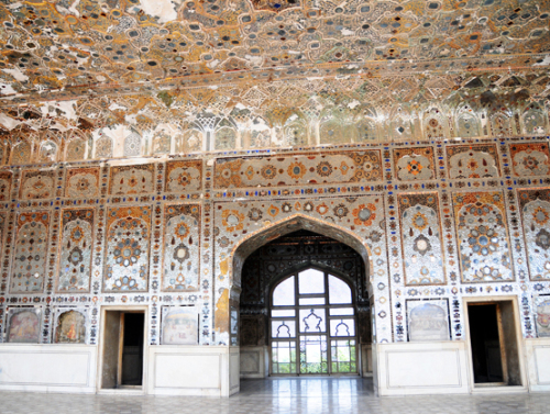 Pakistan Lahore Fort Palace Of Mirrors