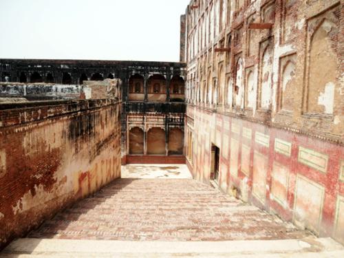 Pakistan Lahore Fort Steps