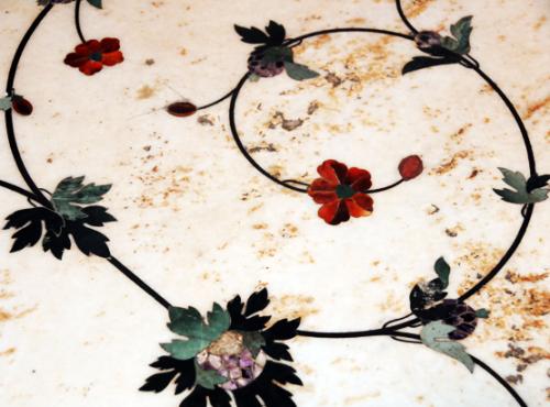 Pakistan Lahore Jahangir Tomb Decorations