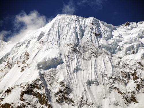 Pakistan Nanga Prabat Ice Wall