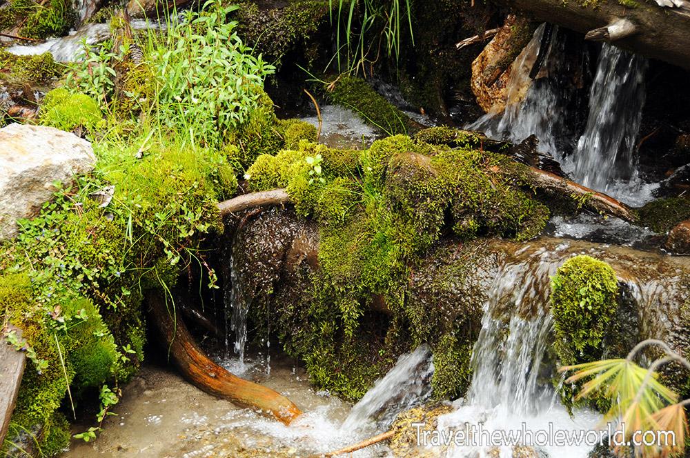 Pakistan Northern Areas Karakoram Mountains Creek