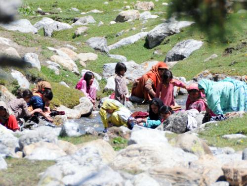 Pakistan Northern Areas Village People