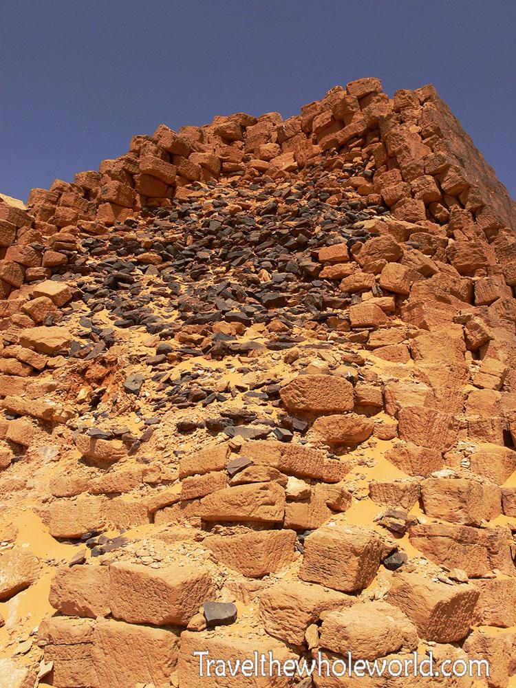 Sudan Meroe Pyramid Ruins