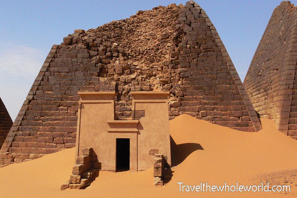 Sudan Meroe Pyramid