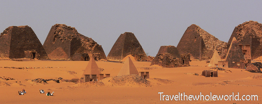 Sudan Meroe Site