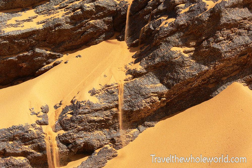 Sudan Sand Fall