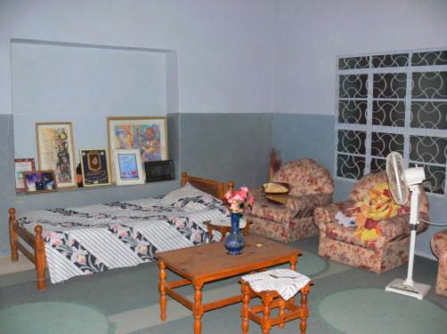 Sudan House Inside
