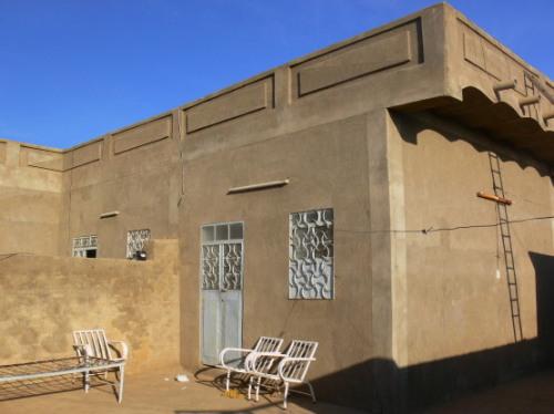 Sudan House Outside