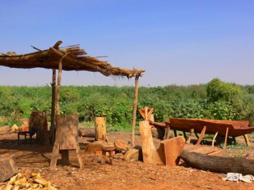 Sudan Nile Hut