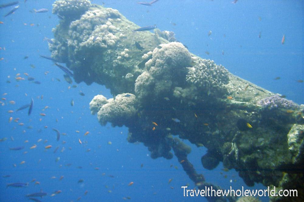 Sudan Red Sea Ship Wreck Deck