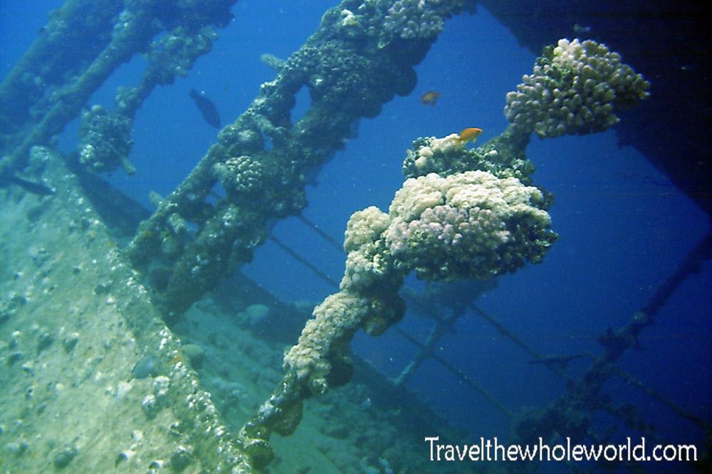 Sudan Red Sea Diving Shipwreck