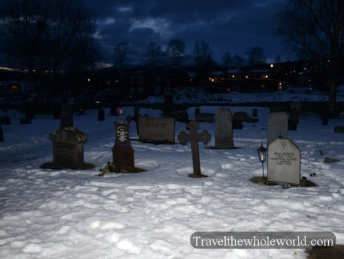 Sweden Are Old Church Cemetery