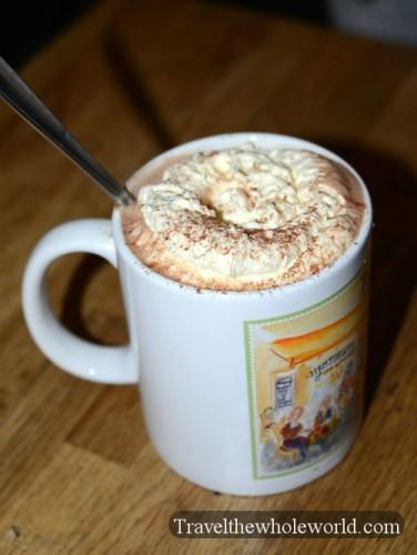 Sweden Gamla Stan Hot Chocolate