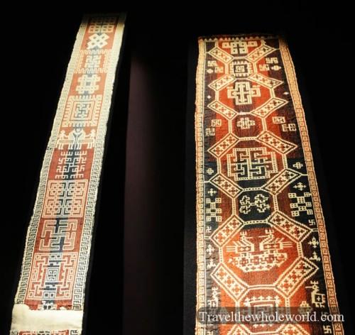Sweden Ostersund Museum Jamtli Sami Tapestry