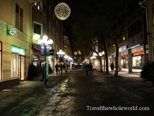 Sweden Ostersund Street