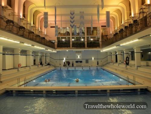 Sweden Stockholm Soldermalm Swimming Pool