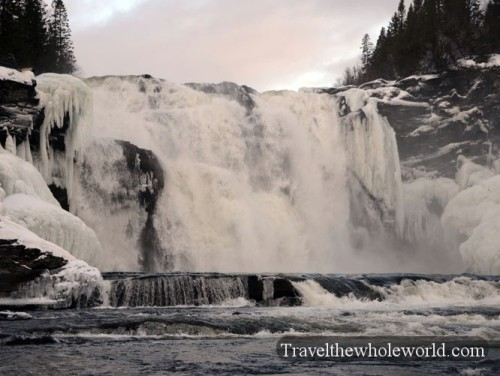 Tannforsen Waterfall