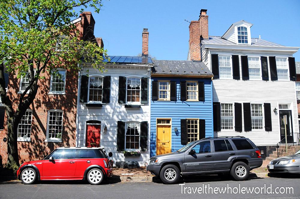 Virginia Alexandria Old Town Townhouses