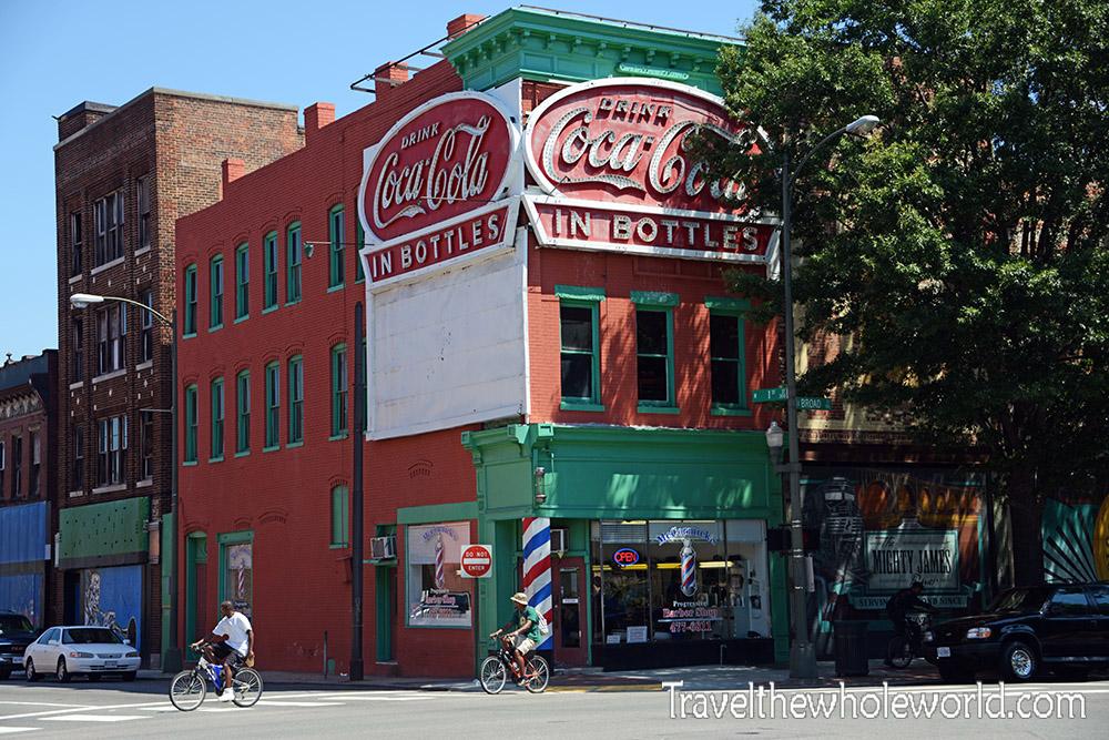 Virginia Richmond Broad Street Coke