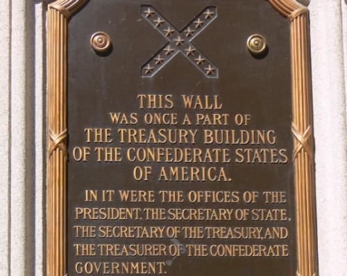 Virginia Richmond CSA Treasury Building