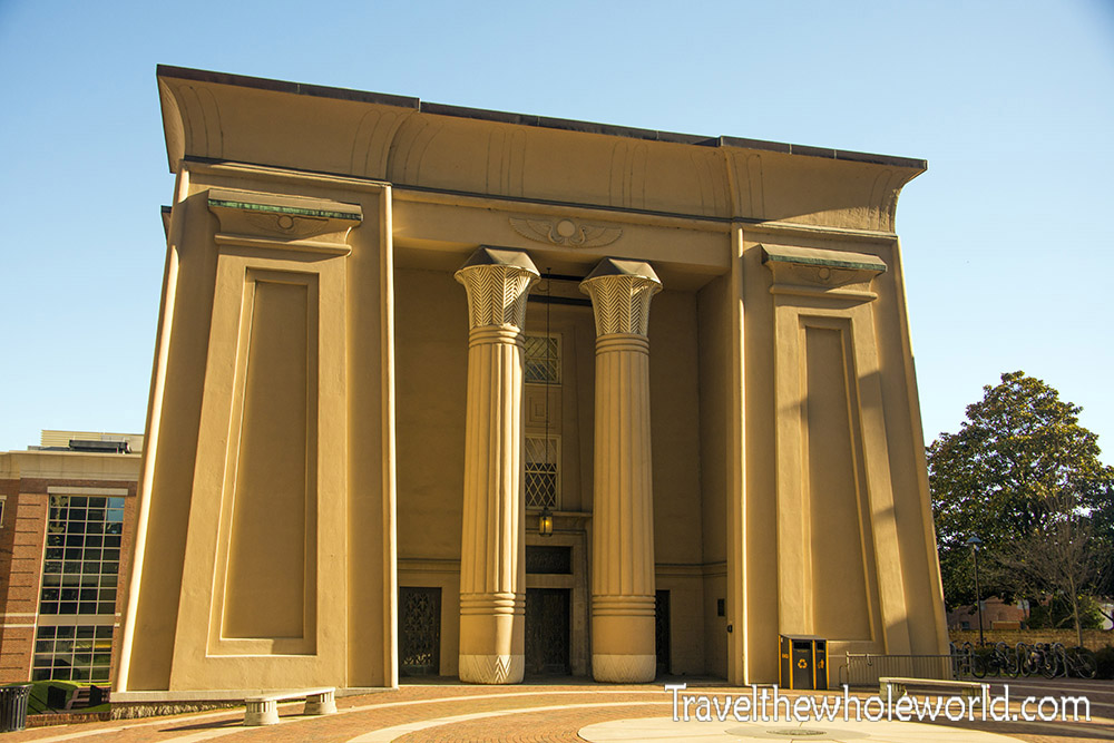 Virginia Richmond Egyptian Building