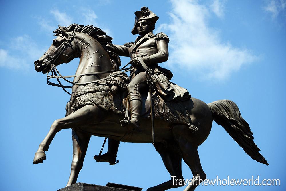 Richmond George Washington Statue
