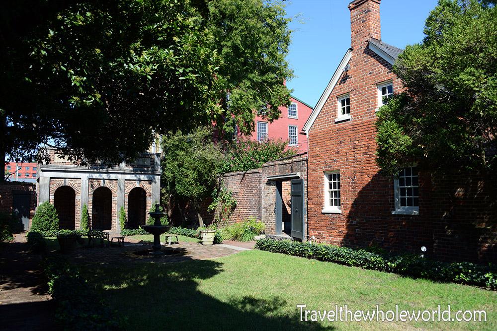 Virginia Richmond Poe House Enchanted Garden
