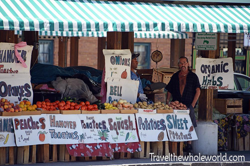 Virginia Richmond Shockoe Bottom Farmers Market