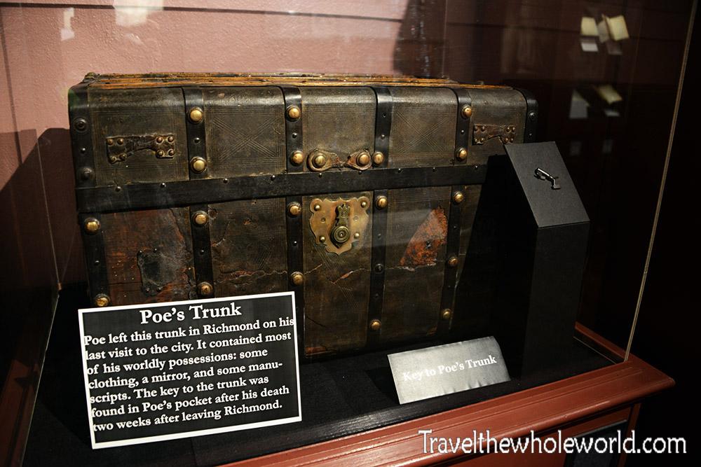 Edgar Allen Poe's Trunk