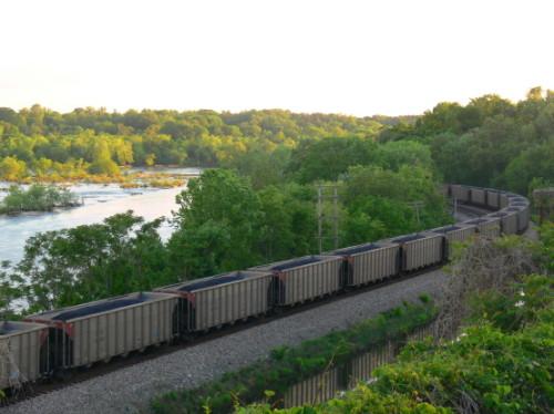 Virginia Richmond Coal Train