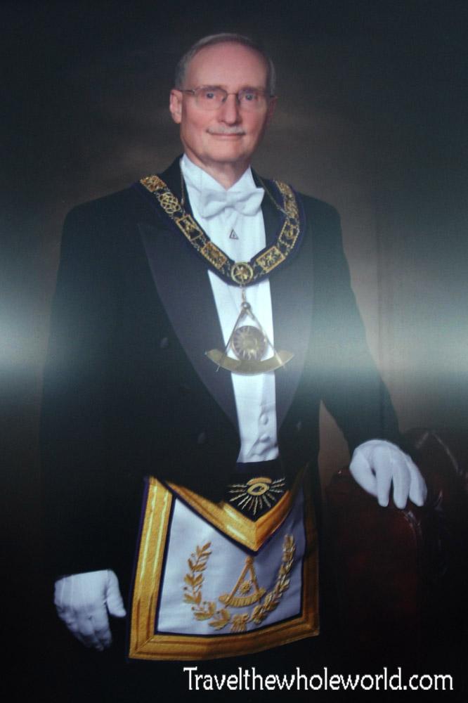 Virginia Masonic Temple Former Grand Master