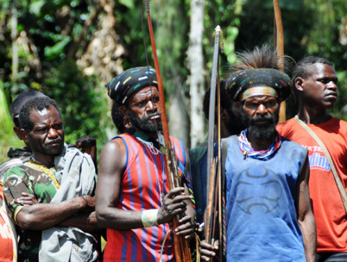 West Papua Sugapa Tribal People