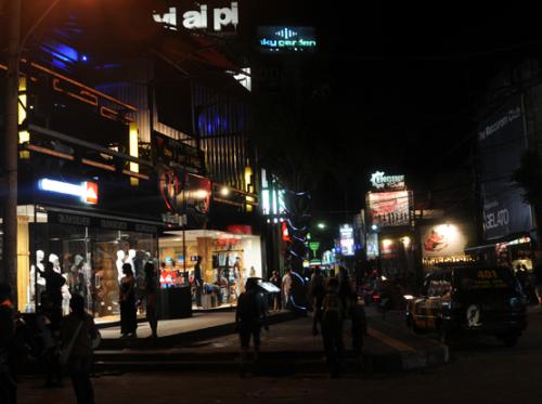 Bali Downtown Night