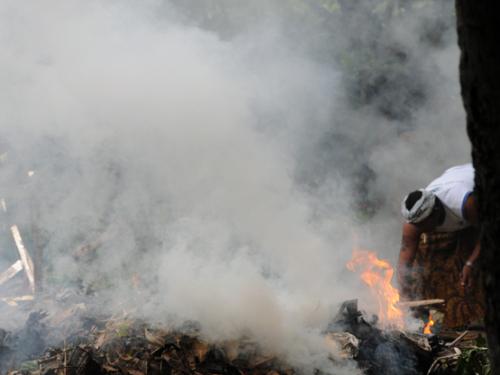 Indonesia Bali Fire
