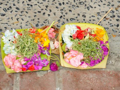 Indonesia Bali Hindu Offering