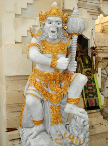 Indonesia Bali Hindu Temple Statue