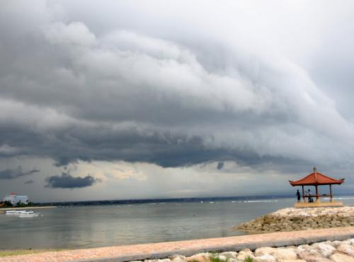Indonesia Bali Storm