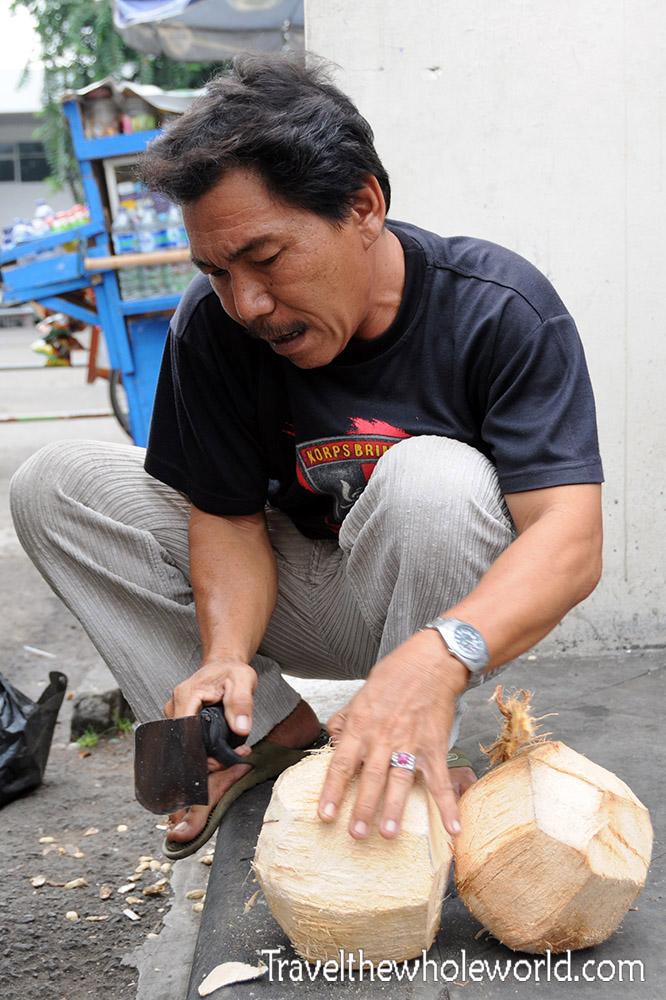 Travel Photos Indonesia Jakarta Coconut