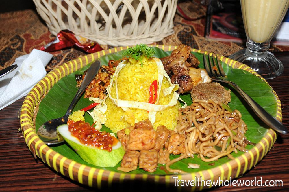 Travel Photos Indonesian Dinner