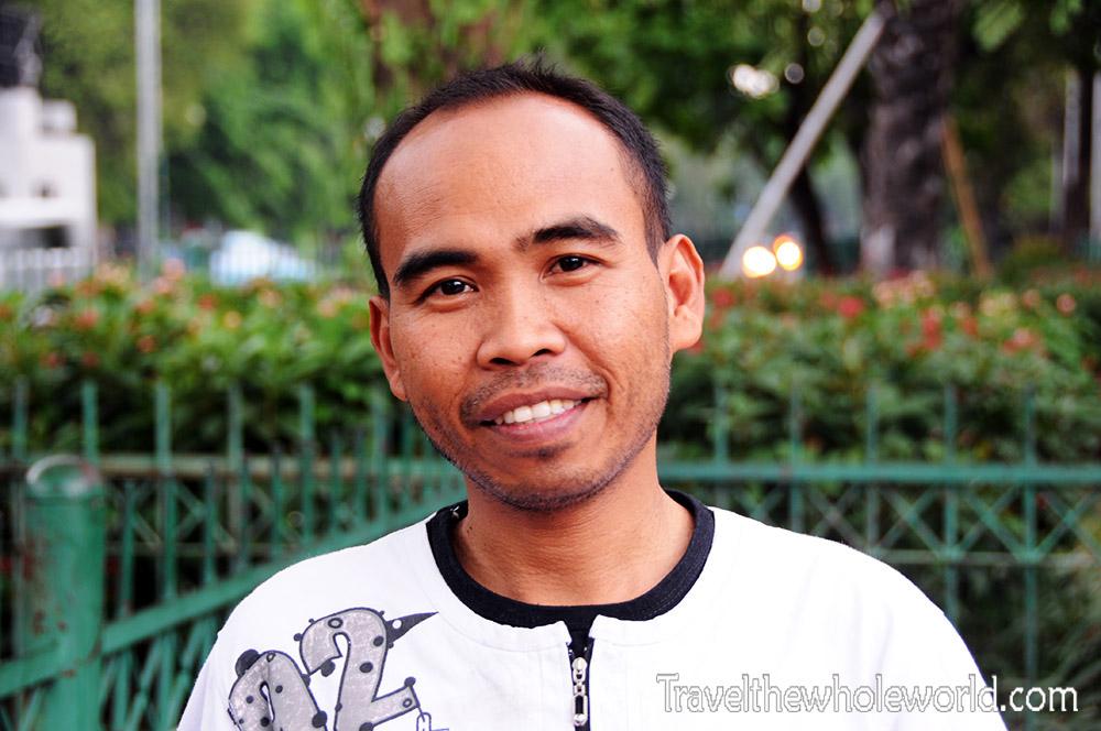 Travel Photos Indonesia Jakarta Man