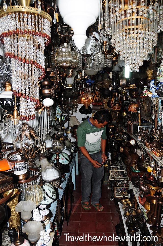 Travel Photos Indonesia Jakarta Jalan Surabaya Market Antique Shop