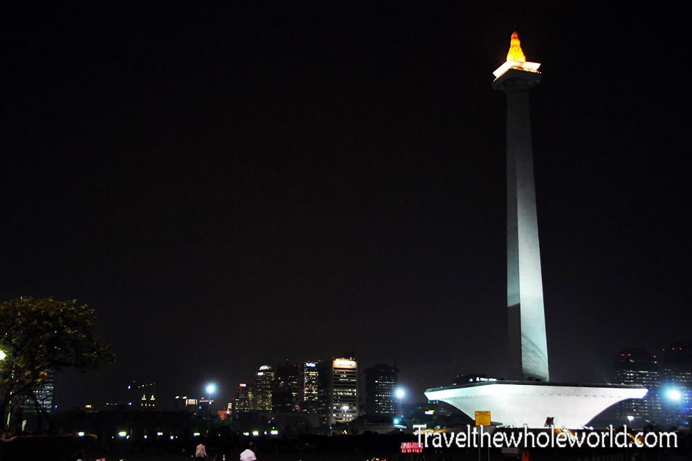 Travel Photos Indonesia Jakarta Monas