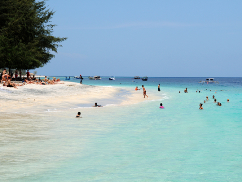 Indonesia Lombok Island Beach