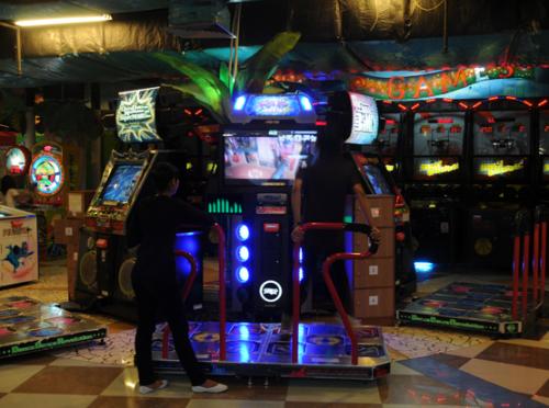 Indonesia Yogjakarta Arcade
