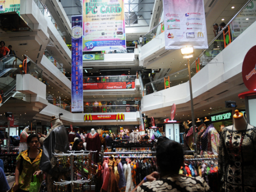 Indonesia Yogjakarta Mall