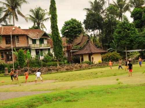 Indonesia Yogjakarta Soccer