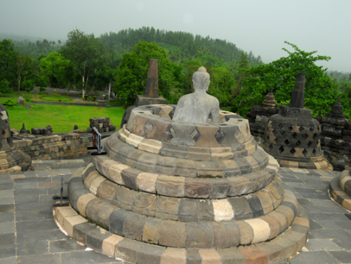 Indonesia Yogyakarta Borobudur Pagoda