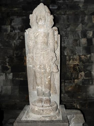 Indonesia-Yogyakarta Pamabara Statue